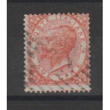 1863 REGNO ITALIA VITTORIO...