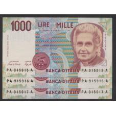 1990 - 3 BANCONOTE...
