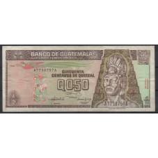GUATEMALA 1992 BANCONOTA 50...
