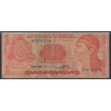 HONDURAS 1992 BANCONOTA 1...