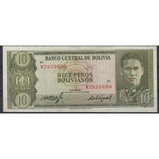 BOLIVIA 1962 BANCONOTA 10...