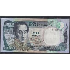 COLOMBIA BANCONOTA 1000...
