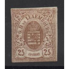 1859 LUSSEMBURGO STEMMA 25...