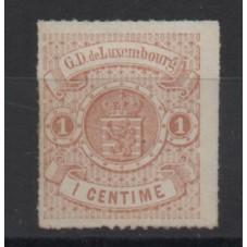 1865-75 LUSSEMBURGO STEMMA...