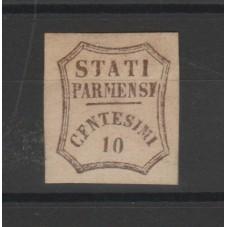 1859 PARMA 10 CENT BRUNO...