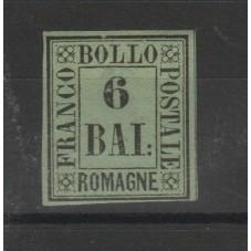 ROMAGNE 1859 6 BAI VERDE...