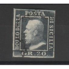 1859 SICILIA 20 GRANA...