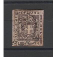 1860 TOSCANA 1 CENT GOVERNO...