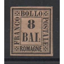 1859 ROMAGNE 8 BAJ ROSA...