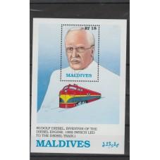 MALDIVES 1989  TEMATICA...