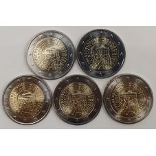 2015 GERMANIA 2 EURO...
