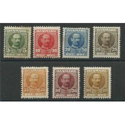1907-12 DANIMARCA DANMARK...