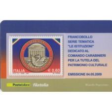 2009 TESSERA FILATELICA...