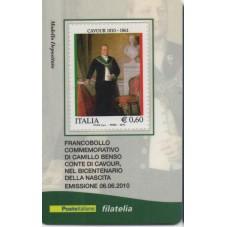 2010 TESSERA FILATELICA...