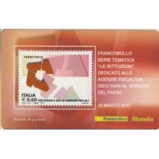 2011 TESSERA FILATELICA...
