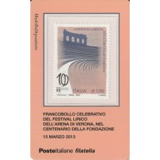 2013 TESSERA FILATELICA...