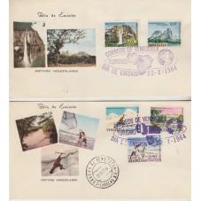 1964 VENEZUELA  TURISMO  6...