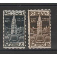 1912 REGNO ITALIA SERIE...