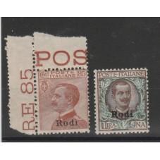 1922 - 23 ISOLE EGEO RODI...