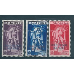 1930 ISOLE EGEO SERIE FERRUCCI 3 VAL PA MLH MF17008
