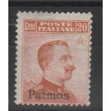 1917 ISOLE EGEO PATMOS 20...