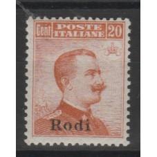 1917 ISOLE EGEO RODI 20...