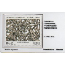 2015 TESSERA FILATELICA...