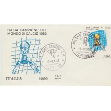 1982 FDC ROSSETTI ITALIA...