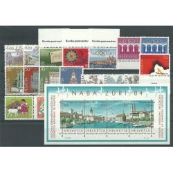 1984 SVIZZERA SWITZERLAND...