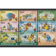 ANGUILLA 1981  DISNEY...