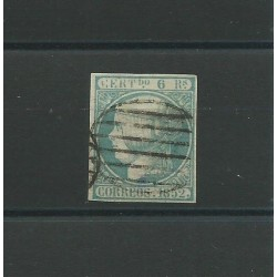 1852 SPAGNA ESPANA ISABELLA...