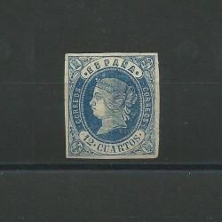 1862 SPAGNA ESPANA ISABELLA...