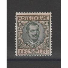 1910 REGNO ITALIA FLOREALE...
