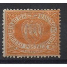 1877 SAN MARINO STEMMA...