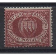 1892/94 SAN MARINO STEMMA...
