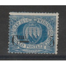 1892 SAN MARINO STEMMA...
