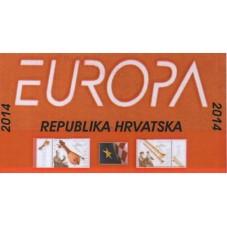 2014 CROAZIA EUROPA CEPT -...