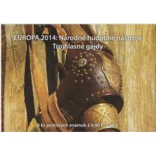 2014 SLOVACCHIA EUROPA CEPT...