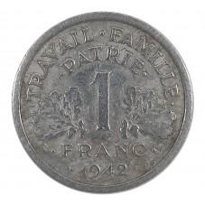 1942 FRANCIA 1 FRANCO -...