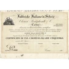 1902 CERTIFICATO 1 CARATURA...