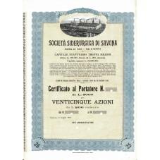 1910 CERTIFICATO AL...