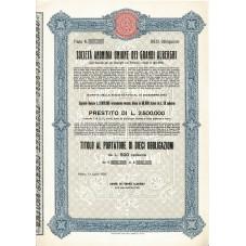 1908 TITOLO AL PORTATORE 10...