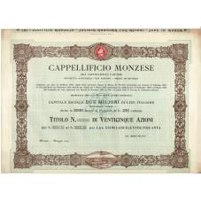1905 TITOLO AL PORTATORE 25...