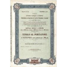 1904 TITOLO AL PORTATORE 25...