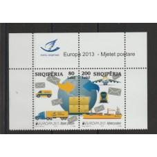 2013 ALBANIA EUROPA CEPT...