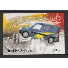 2013 GRECIA EUROPA  CEPT...