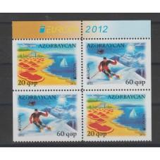 2012 AZERBAIGIAN EUROPA...