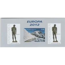 2012  CROAZIA EUROPA CEPT...