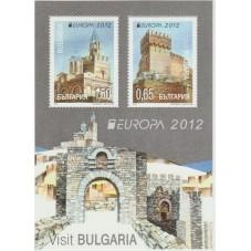 2012 BULGARIA EUROPA CEPT...