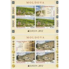 2012 MOLDAVIA EUROPA CEPT...